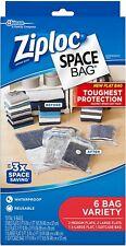 Ziploc space bag, 6 bags variety
