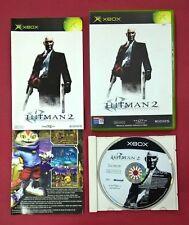 Hitman 2: Silent Assassin - XBOX  - USADO - MUY BUEN ESTADO