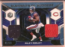 RILEY RIDLEY > 2019 Elements Elements of Success Dual Patch /99 - Bears RC
