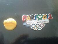 PIN'S PINS Jeux olympiques Ville candidate Paris 2012