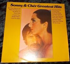 SONNY & CHER Greatest Hits LP USA MCA 2117