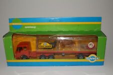 Gama Mercedes Semi Truck, Esso Safari with Animals, Nice with Box