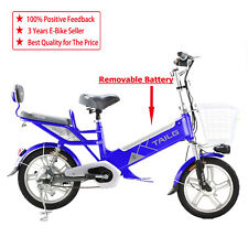 Electric Bike Built In 48V Battery Lithium REMOVABLE Battery THROTTLE TWIST&GO