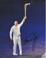 Hand Signed 8x10 photo SIR STEVE REDGRAVE - OLYMPIC CHAMPION - GOLD MEDAL