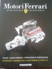 Motore FERRARI ENZO SCALA 1/4 DE AGOSTINI RARO, INTROVABILE