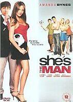 She's The Man [DVD], Very Good DVD, Amanda Bynes, Channing Tatum, Robert Hoffman