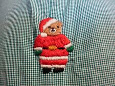 Baby Boy Boutique Strasburg Christmas Green Gingham Plaid Longall Romper 6M