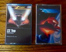 ZZ TOP CASSETTE TAPES LOT OF TWO: