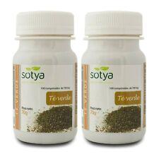2 x TE VERDE 700mg 100 Comprimidos SOTYA Quemagrasas diurético colesterol