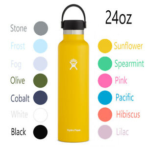 Hydro Flask 24oz standard mouth water bottle in various sizes and colors NEW
