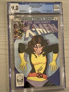 Uncanny X-Men 168 CGC 9.0 White Pages First Appearance of Adult Madelyne Pryor