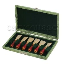 Bassoon Reed Case Holder 125x75x20mm Green for 7mm Bassoon Reed