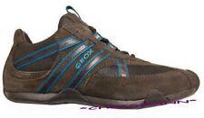 GEOX Respira Sneaker Gr.35 NEU Leder Braun Damen Schuhe Turnschuhe
