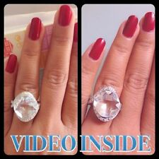 Anniversary Excellent Cut Oval White Gold Fine Diamond Rings
