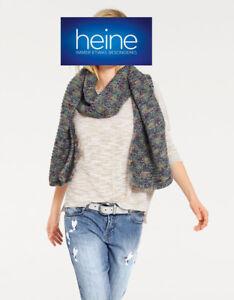 Schal Heine, Strick bunt. 30% Wolle Ca. 180 x 30 cm. NEU!!! KP 49,90 €