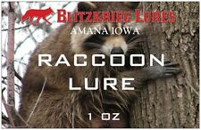 Blitzkrieg Lures-Raccoon Lure- -1 Oz Made By Trapper For Trappers