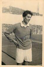 Autografo del giocatore di tennis Fausto Gardini