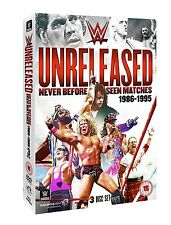 WWE Unreleased: 1986-1995 [3 DVDs] *NEU* DVD