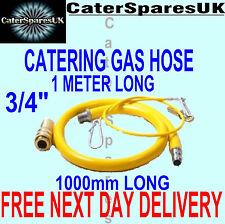 """3/4"""" BSP GAS CATERING tubo per dispositivi commerciali in PVC giallo 1M di lunghezza"""