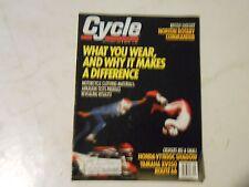 SEPTEMBER 1988 CYCLE MAGAZINE,NORTON ROTARY,HONDA VT1100C,YAMAHA XV250,GEAR,AMA