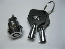 2 pcs Key Switch ON/OFF Lock Switch KS3 w/ Plastic Handle New