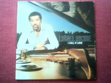"""LIONEL RICHIE - FRANCE ONLY PROMO CARDSLEEVE SINGLE """"I CALL IT LOVE"""""""