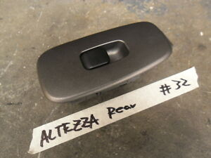 Toyota Altezza/IS200 SXE10 3S-GE Rear Window Switch sec/h # 32