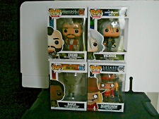 Funko Pop Bundle x 4 new & with some light box damage