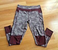 e429298c10b1a Women's/Girl's Kyodan Leggings Purple w/Print Yoga Workout Leggings in size  ...