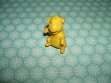 Rare 1970s Esso Glups Diener Tire Bouchon Mini Yellow eraser rubber gomme