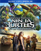 Teenage Mutant Ninja Turtles: Out of the Shadows (Blu-ray/DVD, 2016, 2-Disc Set…