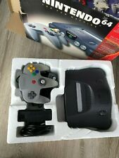 N64 Nintendo 64 Console Complete in Box, Controller Got New Thumbstick.