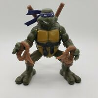 2004 TMNT Teenage Mutant Ninja Turtles Flipping Donetello Action Figure Works