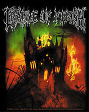 CRADLE OF FILTH English Fire Sticker NEW OFFICIAL MERCHANDISE RARE Heavy Metal