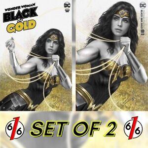 🚨🔥 WONDER WOMAN BLACK & GOLD #1 COHEN Variant Set Trade & Minimal LTD 1500