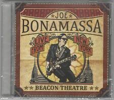 JOE BONAMASSA LIVE FROM NEW YORK BEACON THEATER SEALED 2 CD SET NEW