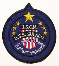 "COLONIAL MARINES ""USS SULACO"" Crew Patch ALIEN / ALIENS"