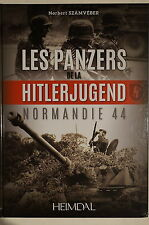 WW2 German Les Panzers de la Hitlerjugend Normandie 44 French Reference Book