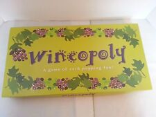 Wineopoly Board Game / Late for the Sky / Game of Cork Popping Fun Wine