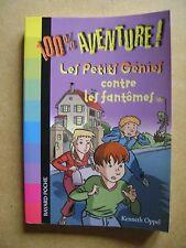 Livre 100% aventure  petits génies contre fantômes 806 /Z21