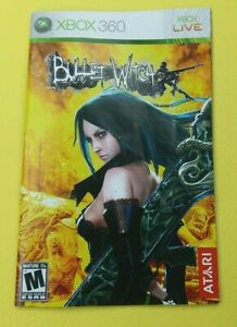 Bullet Witch (Xbox 360 2007) Manual Only