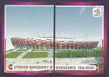 PANINI EURO 2012- #014/015-STADION NARODOWY W WARSZAWIE-CAPACITY-50,000