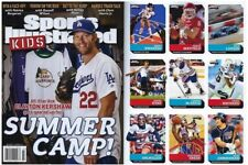 New Sports Illustrated Kids July 2017 Clayton Kershaw Baker Mayfield Rookie Card