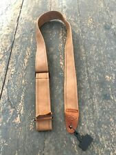 LM Adjustable Leather Acoustic Electric Bass Guitar Strap RRP 60.00