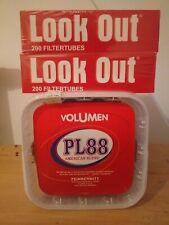 Planta Tabak PL 88  Rot American Blend 365g Feinschnitt Tabak Eimer & 400 Hülsen
