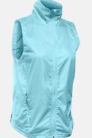Under Armour Storm Layered Up Blue Vest Ladies Women's UK Size S *REF99*