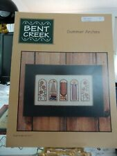 """Counted Cross Stitch Pattern  Bent Creek """"Summer Arches""""  Book Number BC1071 new"""