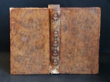 EMETT Essais de MEDECINE Flux Menstruel Maladies Tête CHIRURGIE Relié RARE 1754