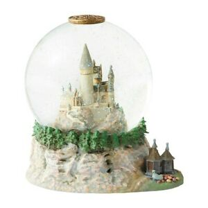 Waterball Hogwarts Castle with Hagrid's Hut Harry Potter