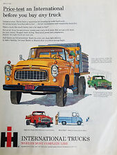 1960 International Harvester Stake and Platform Model Trucks Truck Color Ad